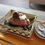茶房 わらび野 - 栗あん 焼き芋 800円