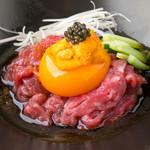 焼肉とワイン 李苑 - 短角牛の美味しさを