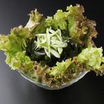 焼肉とワイン 李苑 - 野菜を食べよう!