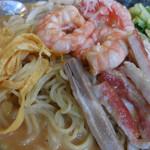 慶楽 - 芝麻冷麺;アップ
