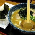 都きしめん - 味噌きし定食670円