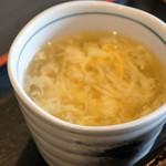 中国料理 富美 - 玉子スープ