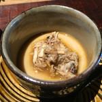 千翠 - ツガニの茶碗蒸し
