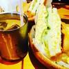 コメダ珈琲店 - 料理写真:玉子サンド