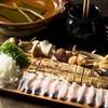 瓢六亭 - 料理写真:鰻のしゃぶしゃぶ。季節の素材とともに。
