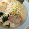ラーメン青木亭 - 料理写真:ラーメン小醤油背脂多め+ネギ丼
