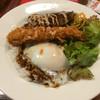 下呂松葉 - 料理写真:ロコモコ丼単品❗️混ぜ混ぜして頂きます❗️ハンバーグが絶品です❗️