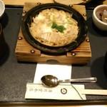 清月堂本店 - [料理] 穴子の柳川御膳¥1,404 セット全景♪w