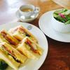 ボンポアンカルダン - 料理写真:サンドイッチのランチ1000円税込