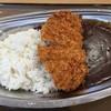 大津サービスエリア 上り線 フードコート - 料理写真:100時間カレーカツのせ(税込900円)