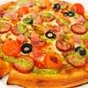 パン・ギャラクティック・ピザ・ポート - 料理写真:ダブルソーセージピザ