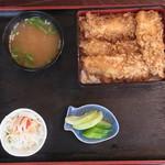 お食事処 名代亭 - なまず天丼 1000円