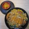 大助うどん - 料理写真:カツ丼セットのカツ丼