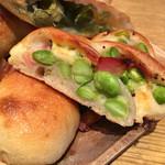 トラスパレンテ - 枝豆ベーコンチーズのパン