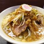 アジト - 豚麺800円(豚2枚)