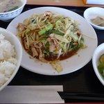 宝楽亭 - 料理写真:肉野菜炒定食(2010/11/03撮影)