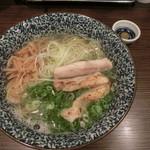 鶏そば 一瑳 - あっさり鶏そば750円