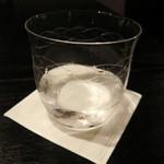 楳心果 - オサレな切子グラス。