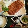 割烹山水亭 - 料理写真:トンカツ定食