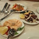 チーロ - 海の幸の前菜