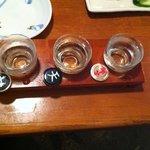 酒菜亭 - 利き酒セット