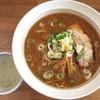 雪月花 - 料理写真:味噌らーめん_800円、割りスープ