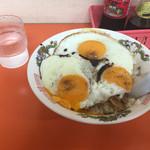 白龍 - 料理写真:今治焼豚玉子飯・中