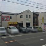 白龍 - 外観写真:右手二台は乗用車では奥行きが短め。