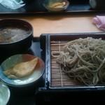 山桜 - つけキノコ蕎麦
