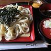 手打ちうどんZ - 料理写真:トロざるうどん 大盛 100円UP