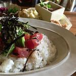 56209097 - 限定5食 天然鮪のアヒポキ丼ランチ 1,200円