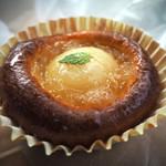 ウルス - 料理写真:白桃のタルト