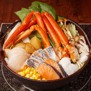 あくとり代官 鍋之進 - まろやかで味わいのある石狩鍋
