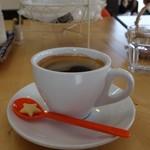 カフェ チョコッティー - (2016/7月)3Dラテアートが届く前に飲むコーヒー