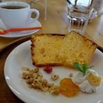 カフェ チョコッティー - (2016/7月)シフォンケーキ