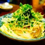 串屋横丁 - 酢モツは柚子胡椒がきいてます