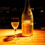 くらむぼんワイン - ドリンク写真:試飲させていただいたスパークリング