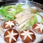 尽 - 鯛の柚子塩しゃぶ鍋