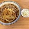 新川うどん店 - 料理写真:天ぷら蕎麦大盛り 460円+ 120円