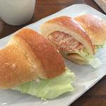 オルト - 野菜サンド。塩ぱんバージョン
