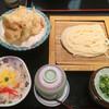さぬき麺業 - 料理写真:とり天ざるセット(*´д`*)780円 4点セットです