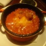 ウィズバー - 料理写真:トリッパとギアラのトマトソース煮込み(1200円)