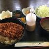とんかつ げんき - 料理写真:ソースカツ丼③ 普通と大盛りの間です