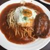 る・るぽ - 料理写真:ハンバーグ大盛り