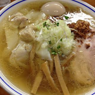 福々亭 - 料理写真:まるとく塩らーめん¥1100