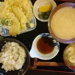 小作 - 2016年8月 麦とろろ定食 1000円