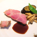 オッキオ デル ティフォーネ - 料理写真:豚肉の…メインです。 (>_<)