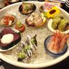 にかいのおねぎや 笹木 - 料理写真:名物のお造り盛合せ。