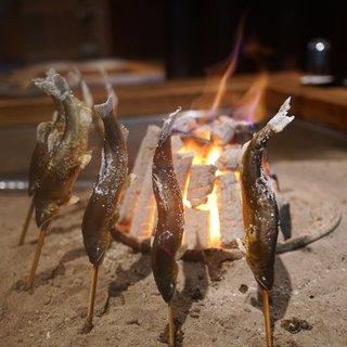 柳家 - 料理写真:鮎炉端焼き
