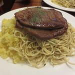 ラ・タベルナ - 牛肉薄切りステーキ1000円